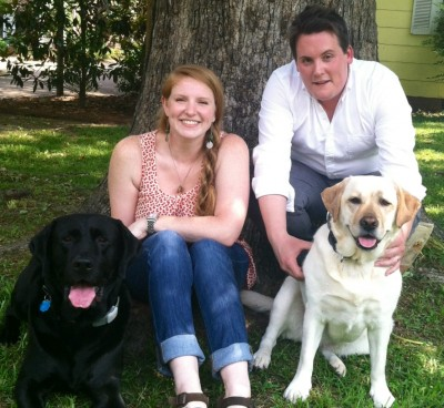 Megan, Holmes, Hank & Ruby