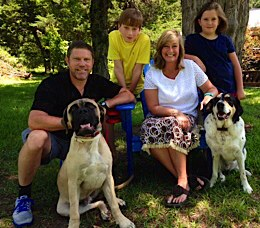 John, Ashley, Porter, Miller, Max & Lucy